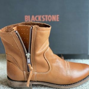 Blackstone 🌵 Western Ankle Zipper Boot Booties